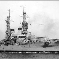 """Battleship USS """"Arkansas"""", January 1st 1918. :: Александр"""