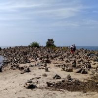 Сад камней.. на Байкале. :: Любовь Лапардина