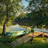 Вечер на озере :: Вадим Sidorov-Kassil