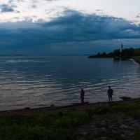 Вечер на Иваньковском водохранилище. :: Виктор Евстратов