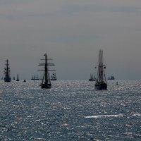 Парусники выходят в море :: Геннадий Мельников