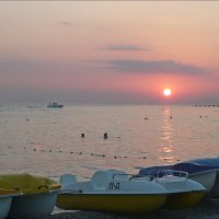 Вечер на море! :: Надежда