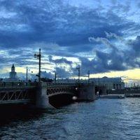Закат над Невой. :: vlad. alferow