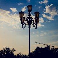 Фонарь у Екатерининского зала :: Krasnodar Pictures