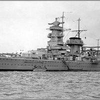 "German heavy cruiser-pocket battleship ""Admiral Graf Spee"", Spithead, May 1937. :: Александр"