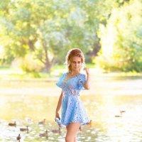 Уточки и голуби :: Женя Рыжов
