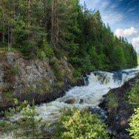Водопад Кивач :: Анжела Пасечник