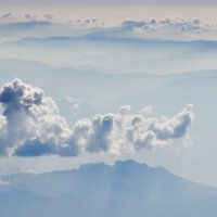 Горы Черногории в тумане :: Александр С.
