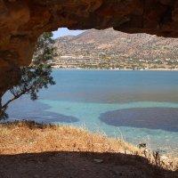 Крит, вид из крепости Спиналонга. :: Ираида Мишурко
