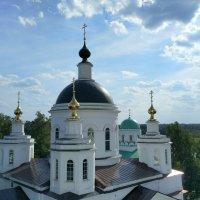 Собор Христа Спасителя ( вид с колокольни) :: Люба