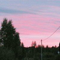 Полосатый закат. :: Цветков@Галин@