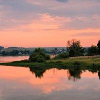 Кольчугино. Закат близ Литвиново :: Сергей Никитин
