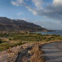 Бухта Като Закрос Крит :: Priv Arter