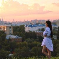 Закат над городом прекоасен :: Мария Вишнева