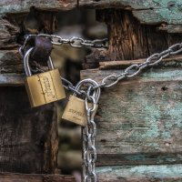 the old town is locked :: Dmitry Ozersky