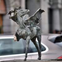 Конь с Большой Конюшенной! :: Антоха Л