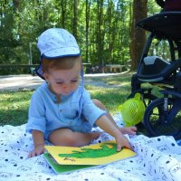 Тони- мой внучок, 9 месяцев... :: Galina Dzubina