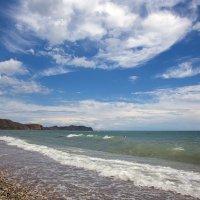Море и ветер :: Леонид