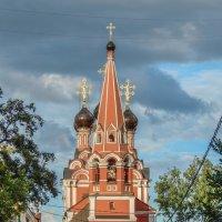 Храм Святителя Николая на Болвановке (1697-1712 гг.) :: Сергей Лындин