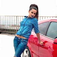 Машина под цвет башмачков :: delete
