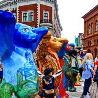 """Выставка """"Берлинские медведи на Домской площади"""" . :: Liudmila LLF"""