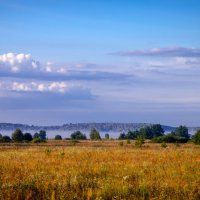 туман над Окой :: Валерий Гудков
