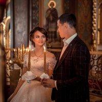 Венчание молодой пары :: Виктория Воронцова