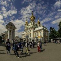 Над куполами облака... :: Юрий Велицкий