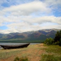 Баргузинский залив  Байкала. :: Любовь Лапардина