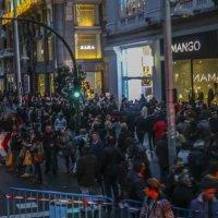 Вечерняя толчея в Мадриде :: Александр Бритшев
