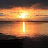 Рассвет на Онежском озере :: Avada Kedavra!