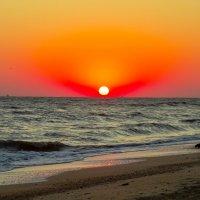 Рассвет на Азовском море :: Алексей Поляков