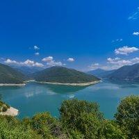 Жинвальское водохранилище :: Алексей Каценбоген