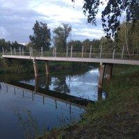 Мост через озеро в парке :: Вячеслав & Алёна Макаренины