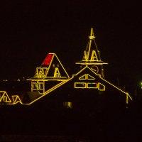ночные очертания :: Петр Беляков
