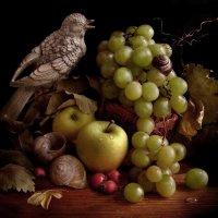 Натюрморт с виноградом. :: Nata