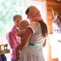 Крещение ребенка :: Юрий Стариков