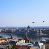 Авиашоу 20 августа 2018 г. в  день святого Иштвана, г. Будапешт Венгрия :: Tamara *