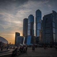 Закат над Москва Сити :: Cristof Hill