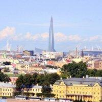 Вид на город с колоннады Исаакиевского собора  3 :: Сергей