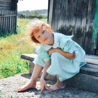 Лето  в деревне :: Татьяна Ефремова