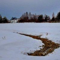 Зимний пейзаж :: Алёна Сапунова