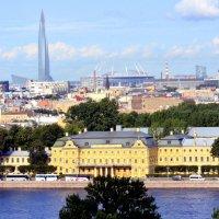 Вид на город с колоннады Исаакиевского собора  8 :: Сергей