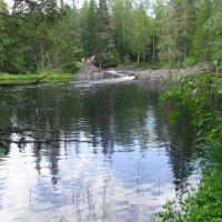 Водопад Ахинкоски :: Виктор Мухин