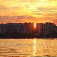 заплыв на закате :: Эльмира Суворова