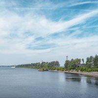 Рыбинск, выход в водохранилище. :: Алексей le6681 Соколов