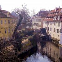 Утро на Карловом мосту.Прага. :: Александр Белый