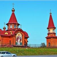 Храм у дороги :: Vladimir Semenchukov