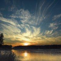 Пылающий закат :: Александр Попович