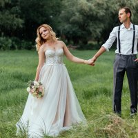 Свадебная прогулка :: Яна Глазова